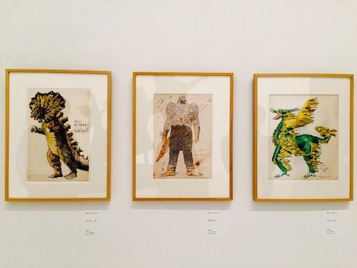 Tohl Narita, 'Jirass' (1966), 'Guigass' (1966), 'Dodongo' (1966) © Eternal Universe Inc.