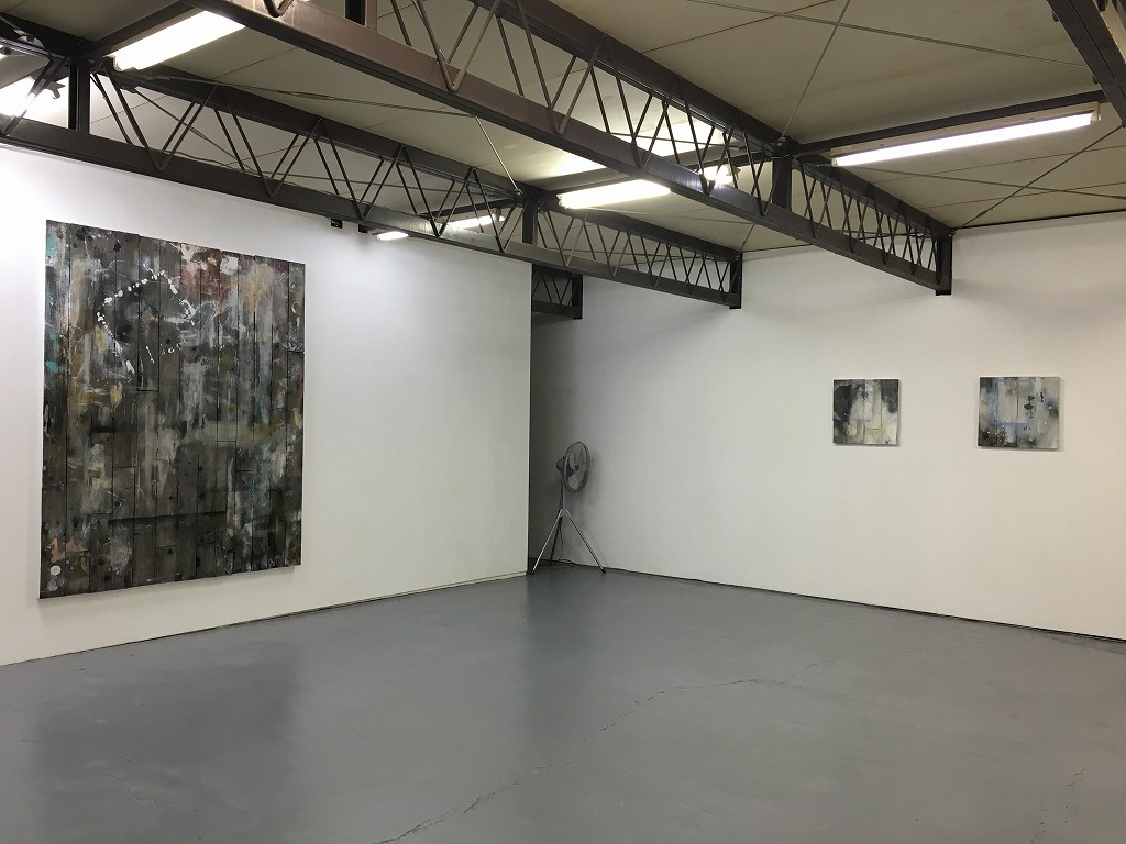 Keisuke Tada's studio space