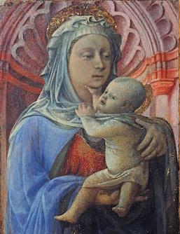 Filippo Lippi, 'Madonna and Child' (ca. 1436)