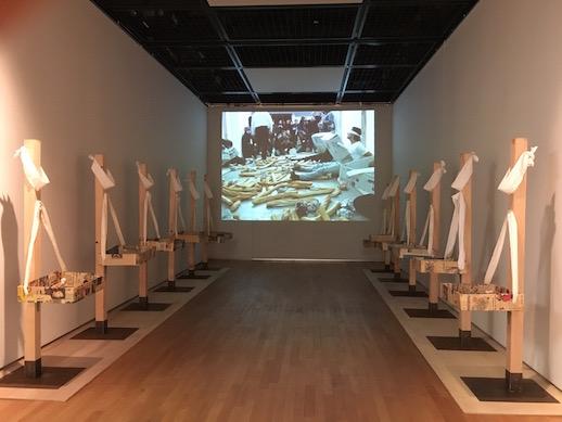 Tatsumi Orimoto, 'Punishment' video (2004–2009), Installation View (2016)