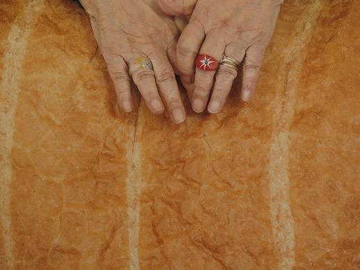 Tatsumi Orimoto, 'Art Mama With Big Bread' (2012) (partial)