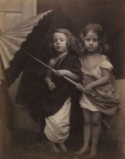 Julia Margaret Cameron, 'Paul and Virginia' (1864) ©Victoria and Albert Museum, London