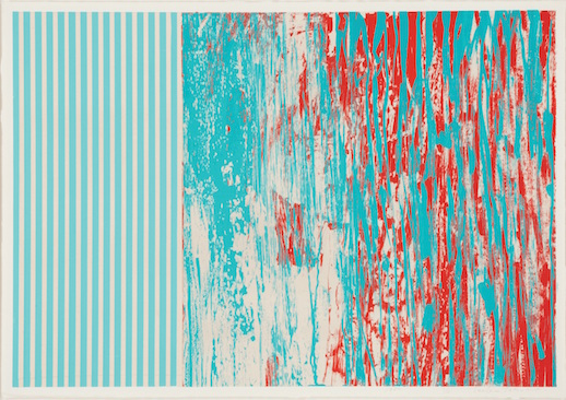 Toeko Tatsuno, 'Work 80-N-1' (1980) silk screen print on paper. (C) Tsuyoshi Tatsuno, Rieko Hiraide.
