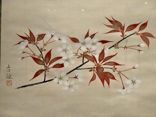 Kokei Kobayashi, 'Cherry Blossoms' (1933), Yamatane Museum of Art