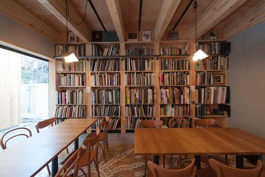 Inside Photobook Diner Megutama