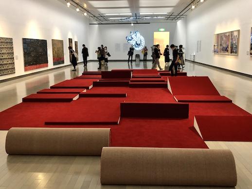 Installation View of Yokohama Triennale 2020 at Yokohama Museum of Art