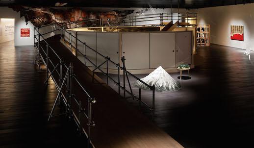 'Fusuma-e installation', Installation view
