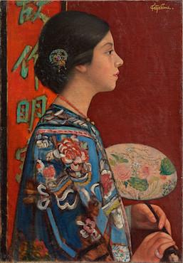 Takeji Fujishima, 'Orientalism' (1924)