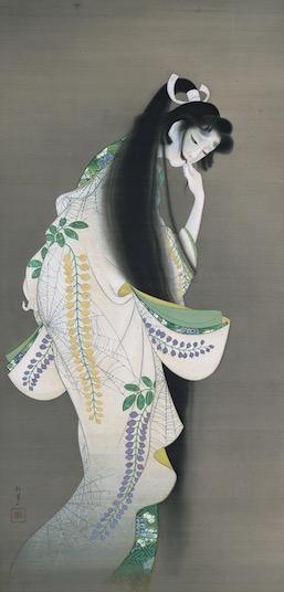 Shoen Uemura, 'Flame' 1918, Tokyo National Museum