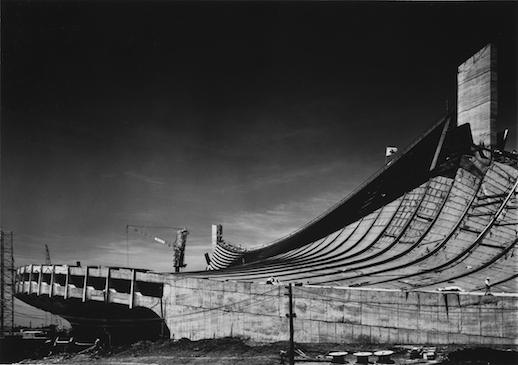 Yoyogi National Gymnasium|1964|Photo by Ishimoto Yasuhiro, The Museum of Art, Kochi ⒸKochi Prefecture, Ishimoto Yasuhiro Photo Center