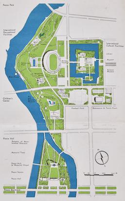 Central Theme of Hiroshima City Planning | 'Peace City HIROSHIMA'