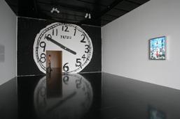 《東京時間》2007年 ミクストメディア、塗料