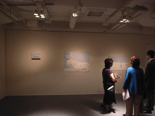 Yuko Murata's paintings.
