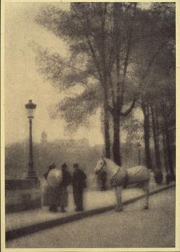 福原信三《博労》1913年 印画紙 資生堂企業資料館蔵