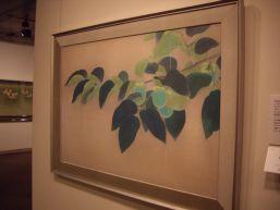 上村松篁《青柿》 1947年/絹本彩色