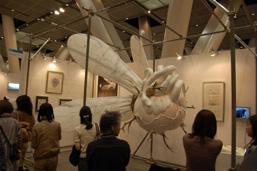ミヅマアートギャラリーでは鴻池朋子をフィーチャー