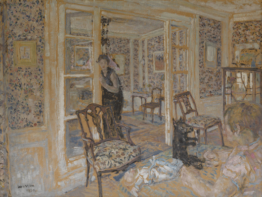 ジョルジュ・モレン《室内》