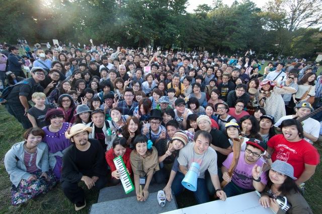 「プロジェクトFUKUSHIMA!」と連携して行われたTERATOTERA祭り特別企画「オーケストラTOKYO-FUKUSHIMA!」