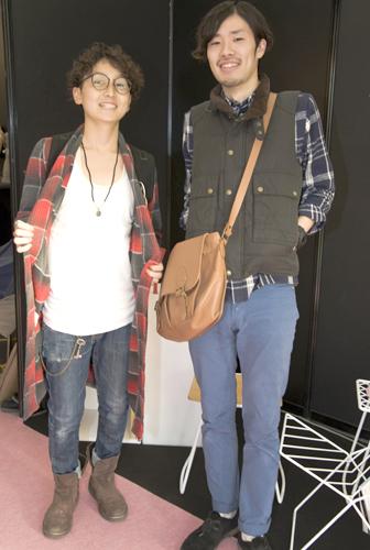 左:伊藤恭平さん、右:石川宏平さん
