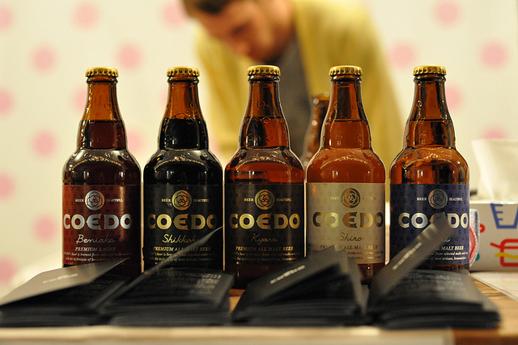 飲み比べしたい5種類のコエドビール