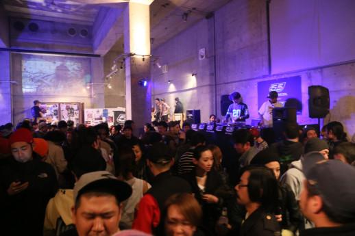 アフターパーティーは会場を移しての開催。