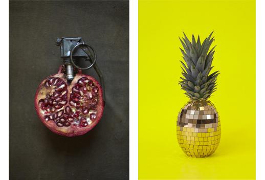 《Grenade / 2011》(左) 《Pina Colada / 2013》(右)