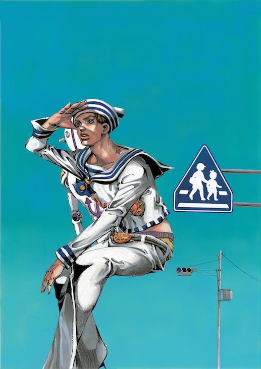 第17回 マンガ部門 大賞 荒木飛呂彦 《ジョジョリオン ―ジョジョの奇妙な冒険 Part8―》