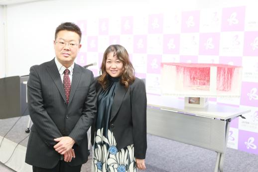 選出された中野仁詞氏と塩田千春氏