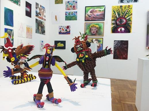 NPO法人エイブル・アート・ジャパンの事務所に併設されているA/A gallery