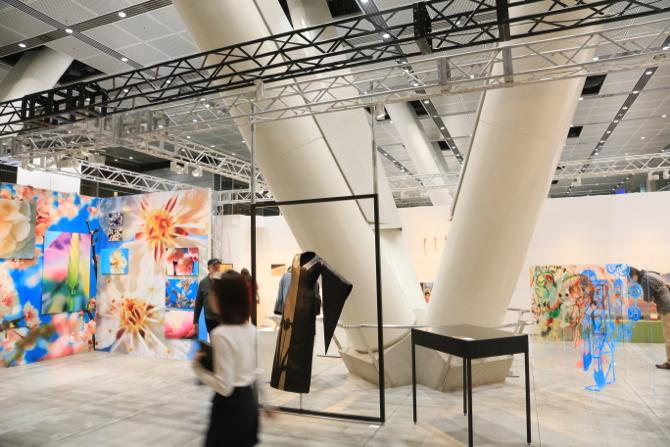 アートフェア東京2015の様子
