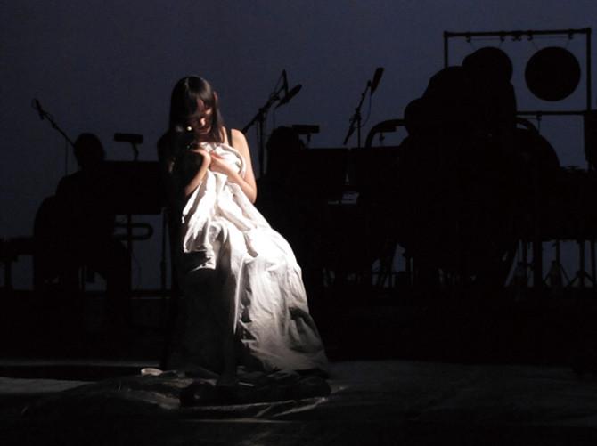 青木涼子 『秘密の閨』試演 2012