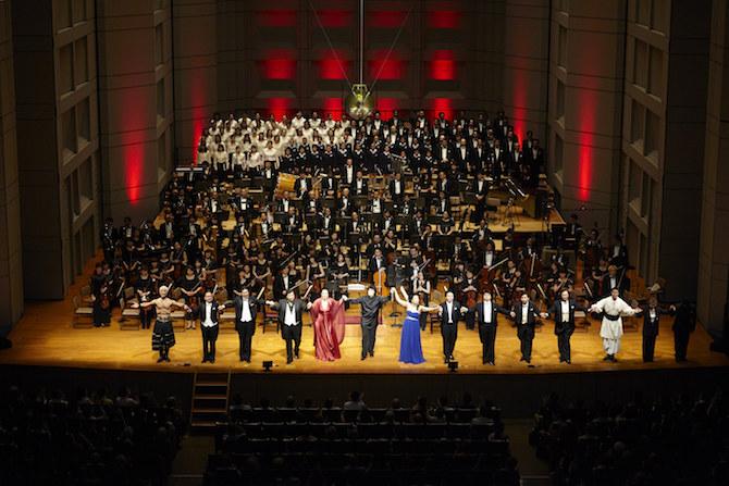 指揮:アンドレア・バッティストーニ 演奏:東京フィルハーモニー交響楽団 Bunkamuraオーチャードホールでの『トゥーランドット』(2015年、演奏会形式)