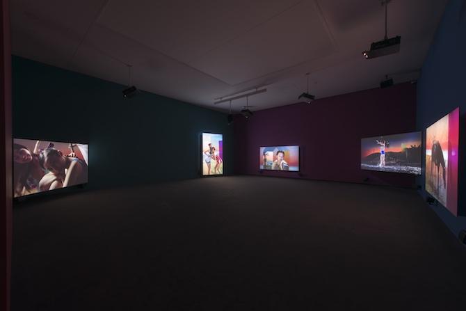 フォンダシオン ルイ・ヴィトン コレクションの中の中国(2016年1月-8月)展示風景
