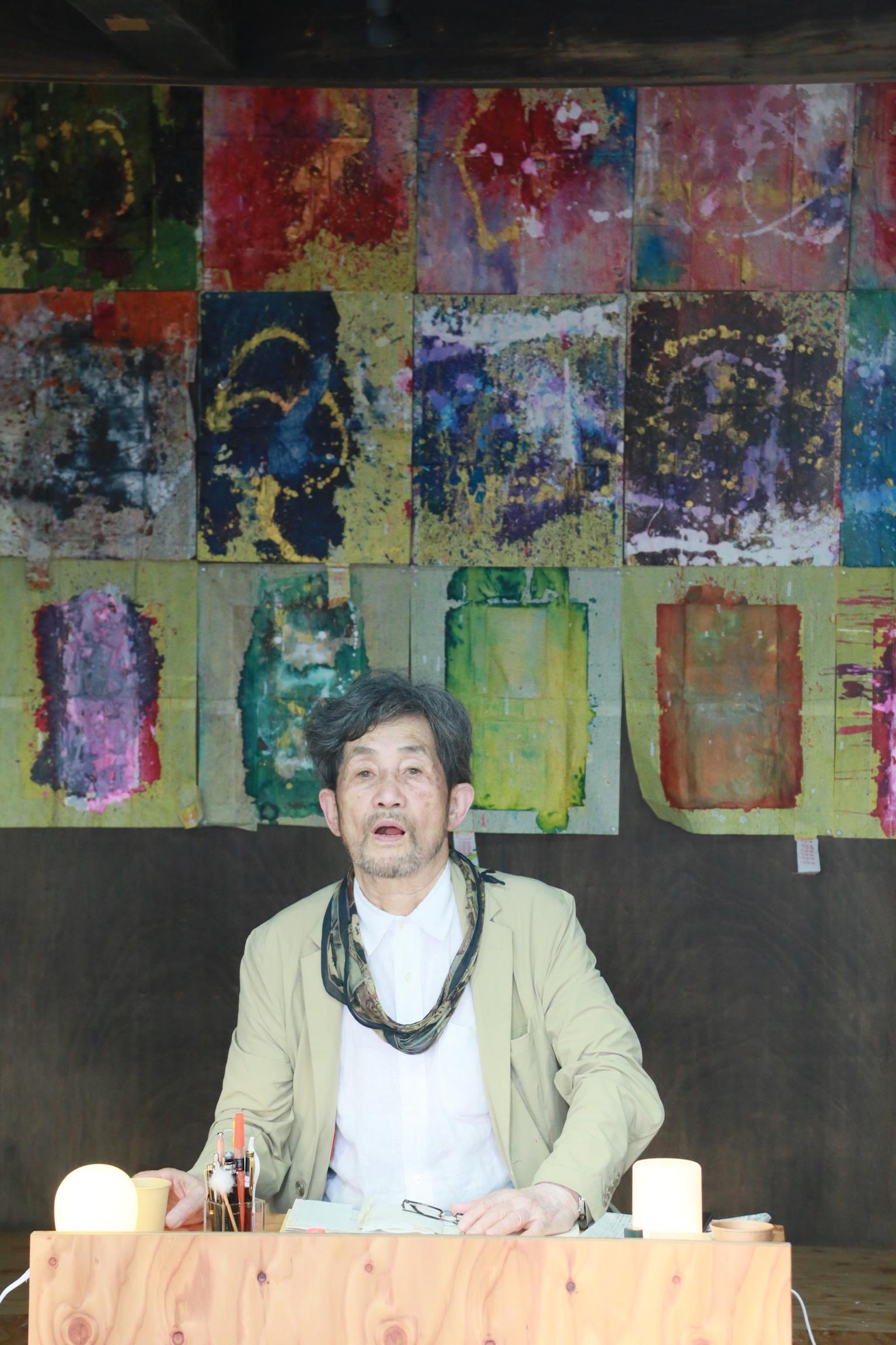 吉増氏本人と「詩人の家」で交流できる