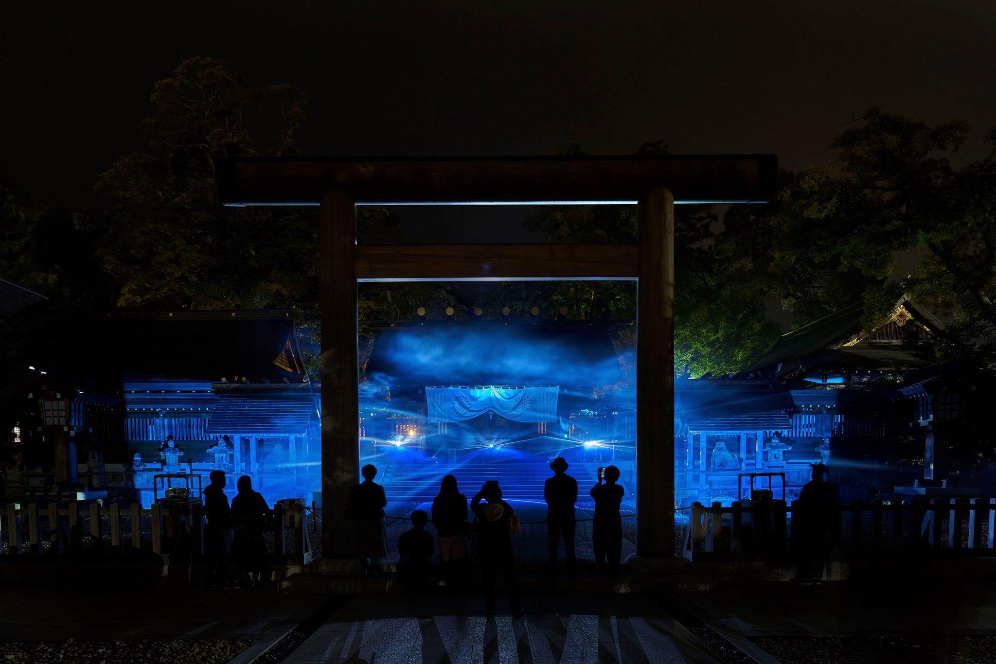 「ALTERNATIVE KYOTO 2020─現実と空想のはざまで」、齋藤達也《Double Horizon》(2020)