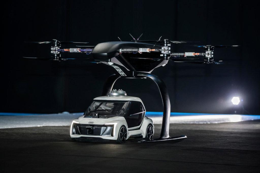 Pop.Up Next, el modelo de taxi volador de Airbus.