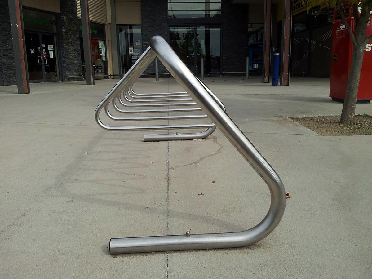 mobiliario urbano inteligente, aparcabicis