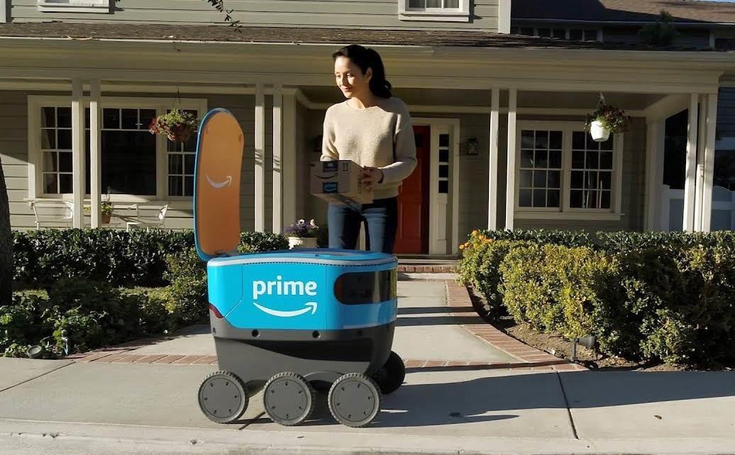 amazon delivery robot