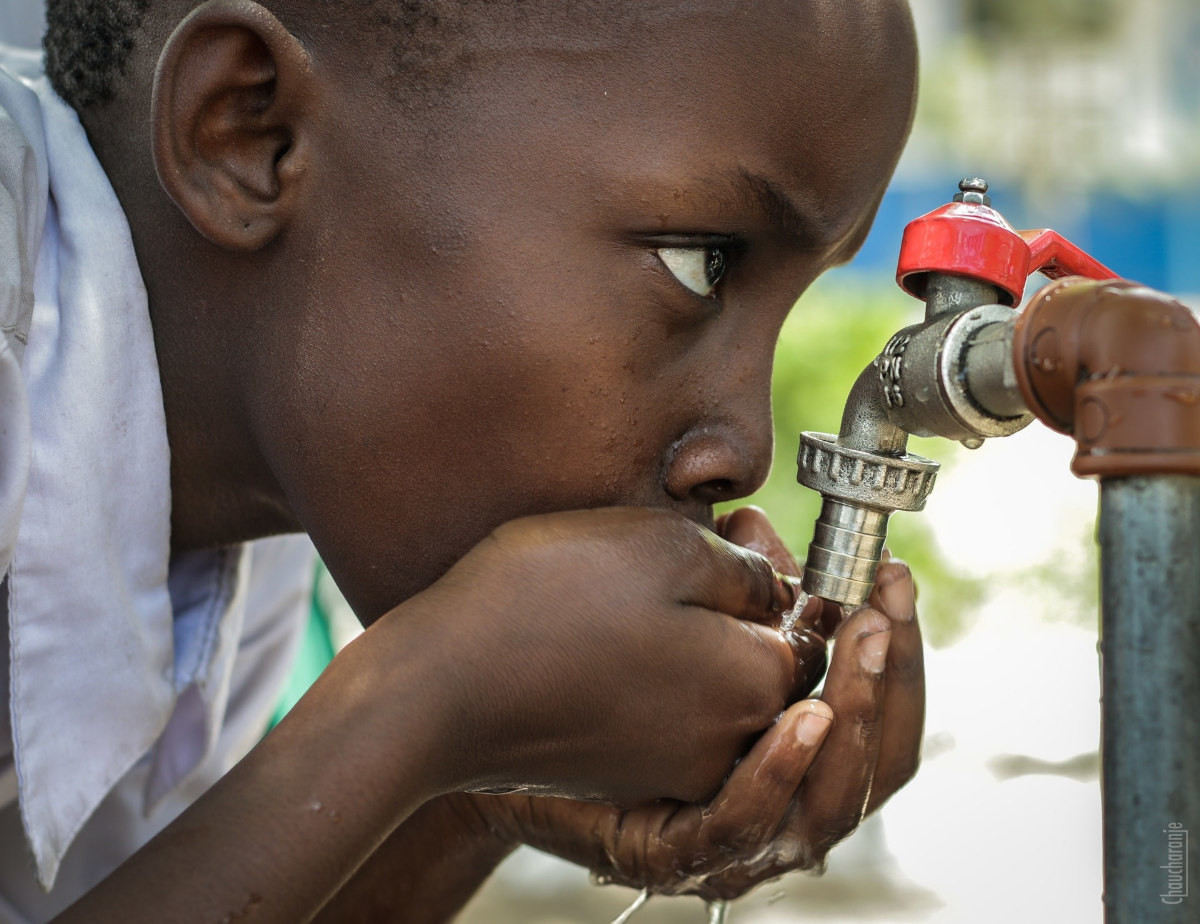 drinking water and scarcity