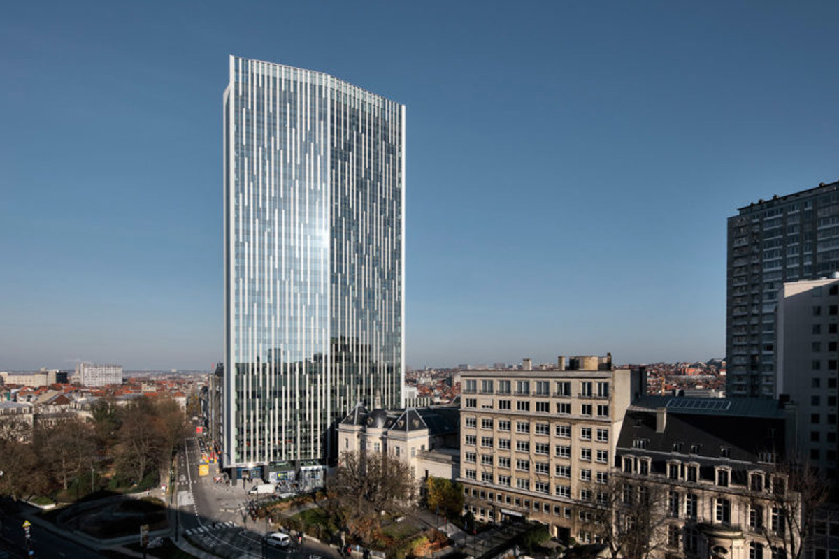 Brussels, european capital with smart buildings