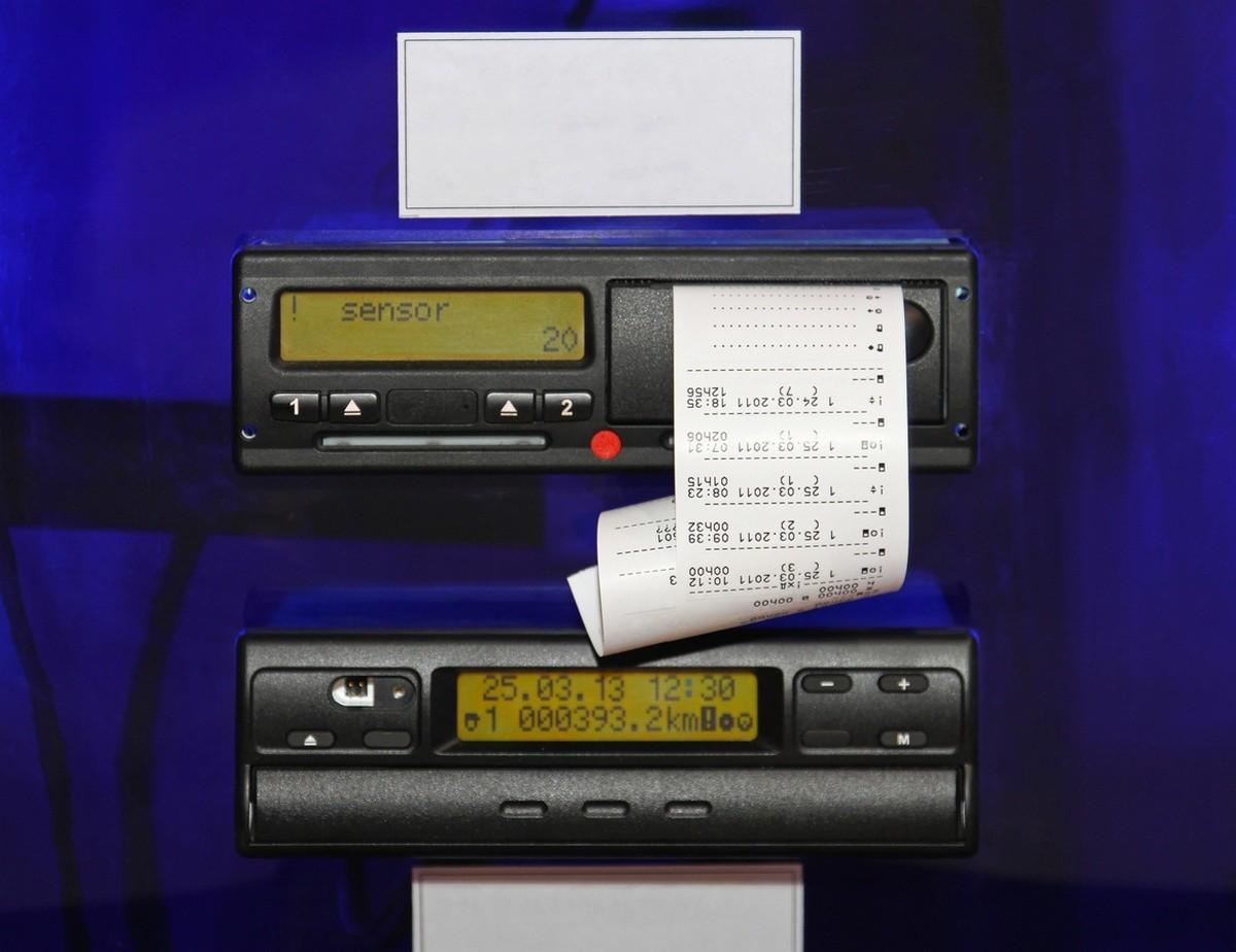 Caja negra y tacógrafo