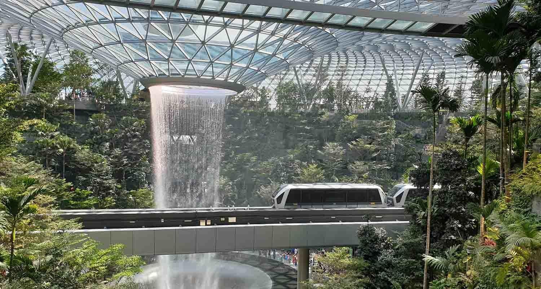 interior if singapore's airport