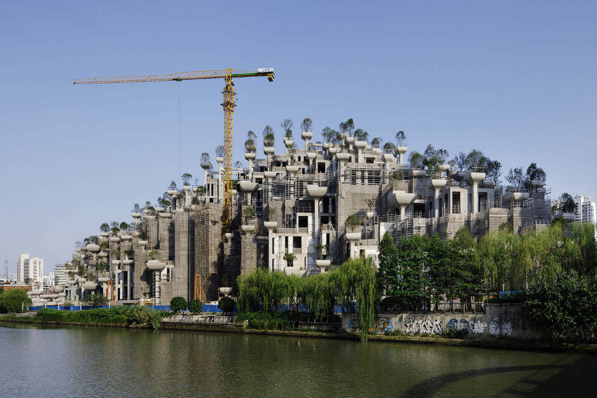 1000 trees Smart infrastructures