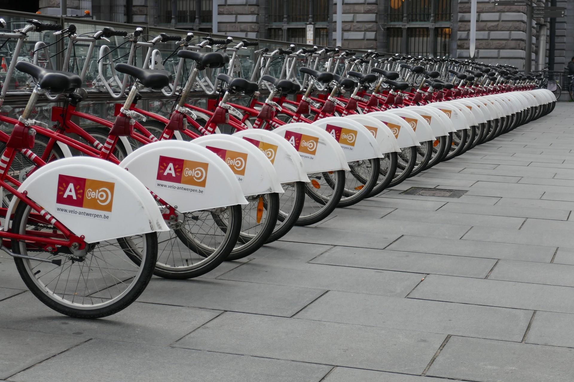 ride sharing bikes