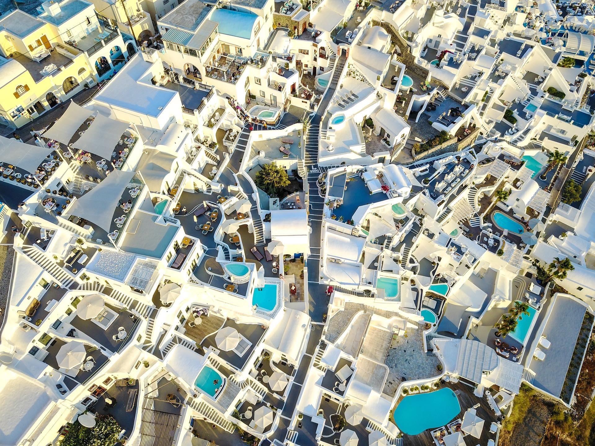 vista aerea desde un dron