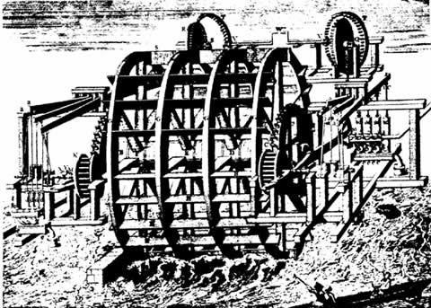 maquinaria de bombeo de agua