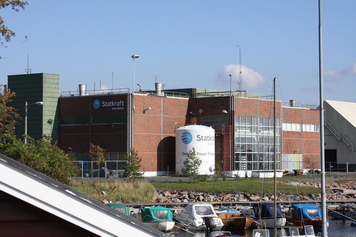 Planta de energía azul en Noruega