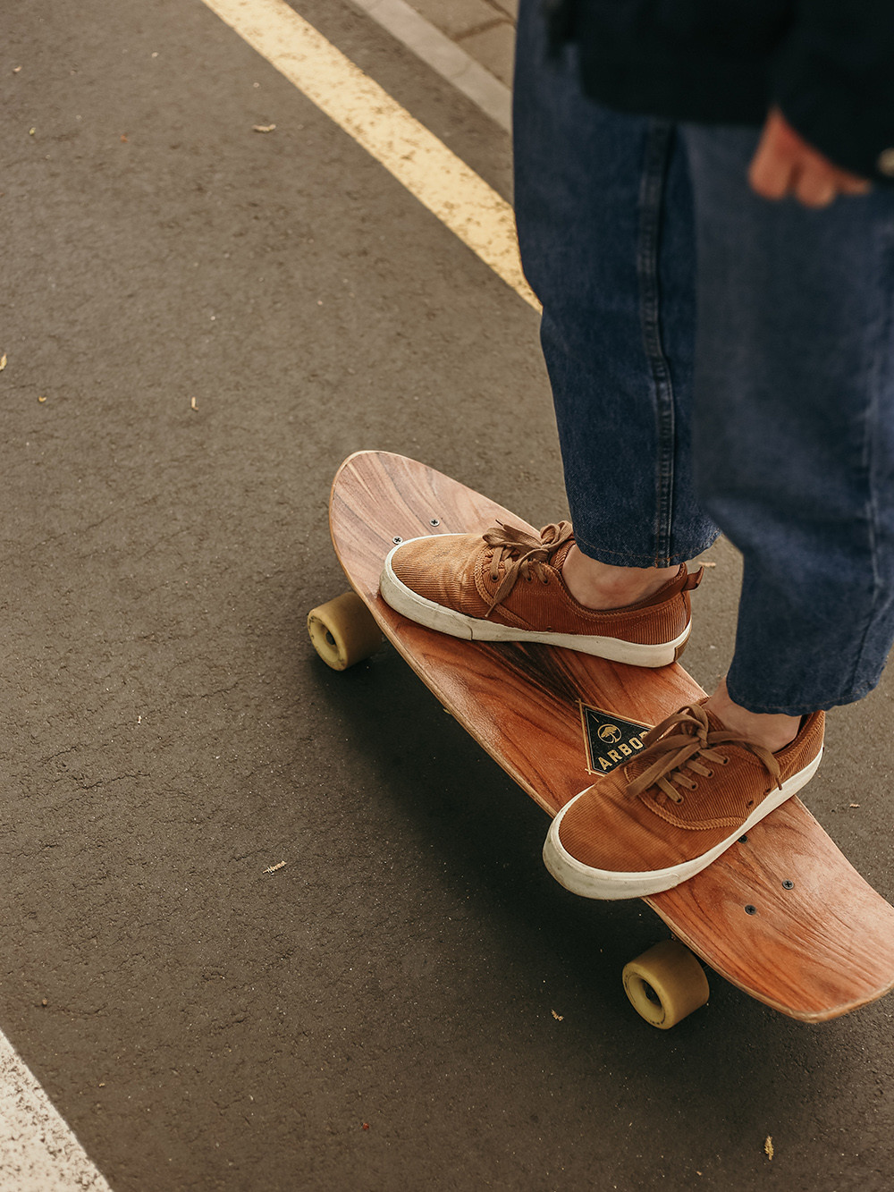 person on a skateboard