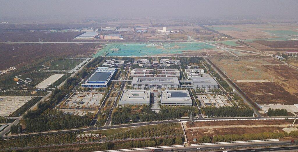 Aeria photo of Xiong'an Citizen Service Center (2019)