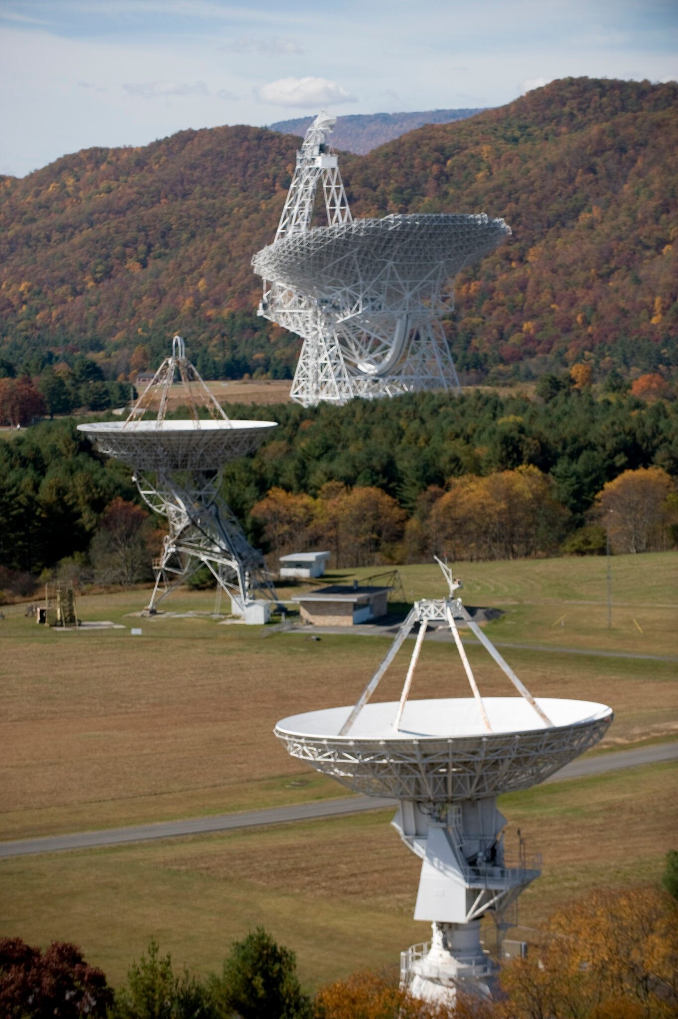 Green Bank's radiotelescopes